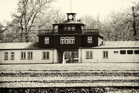 Buchenwald concentration camp where princess Mafalda eventually died