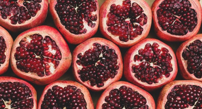 pomegranate in all its glory